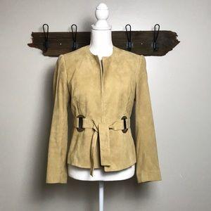 Carlisle Vintage Blazer Suede Retro Mod